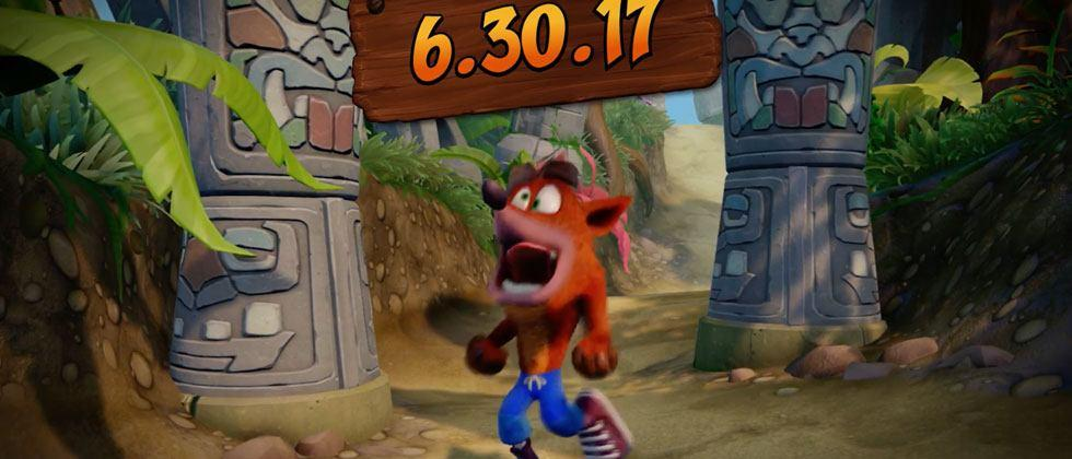 Crash Bandicoot trilogy release coming to PS4 Pro