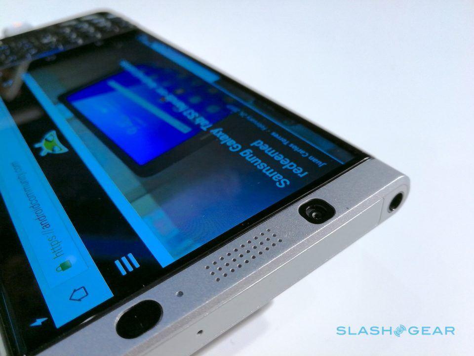 BlackBerry KeyOne hands-on: A keyboard, at a cost - SlashGear