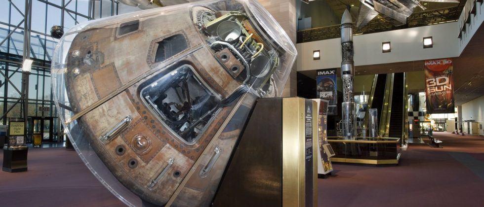 Apollo 11 command module begins nationwide tour next year