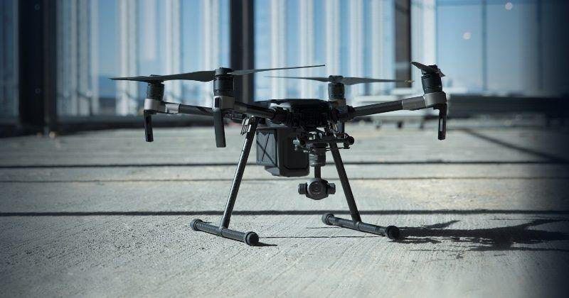 DJI M200 is no toy, built for professional use