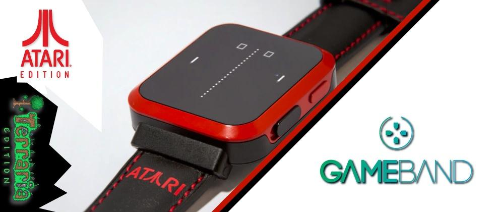 Gameband returns as smartwatch with Atari, Android, Pong
