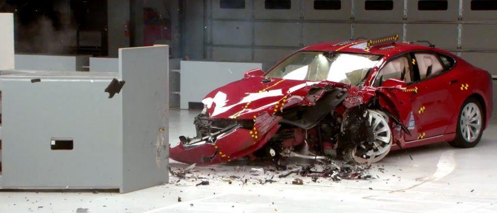 Tesla and BMW EVs miss top scores in shock safety tests