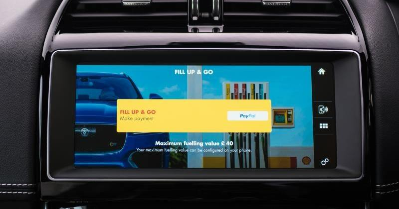 Jaguar, Shell lets you pay for your fuel with your car