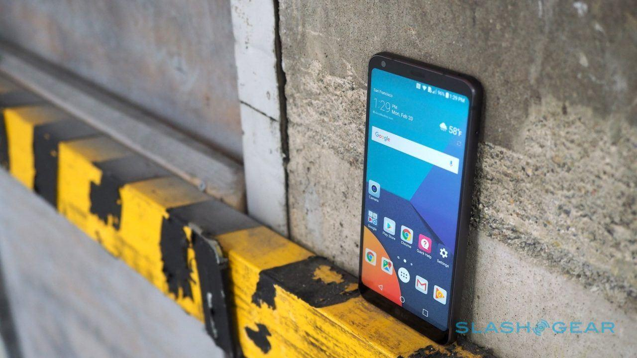 LG G6 hands-on: It's all about this amazing screen - SlashGear