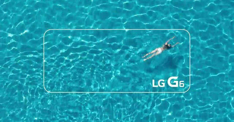 LG G6 teaser confirms that, yes, it will be waterproof