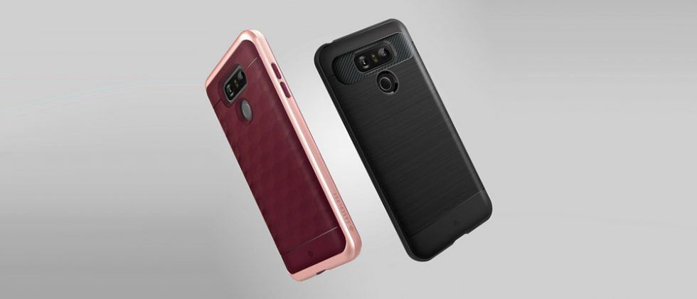 Caseology Parallax and Vault LG G6 phone cases now available