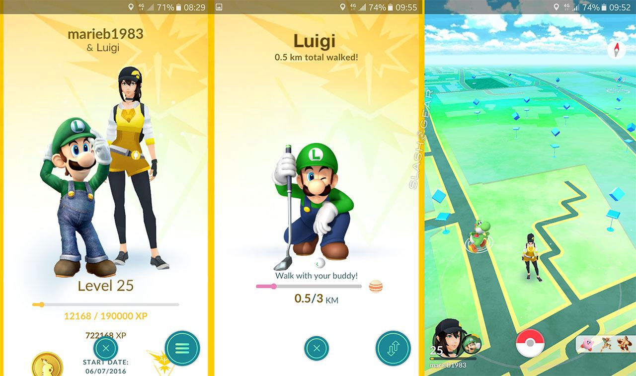 Pictures of pokemon go characters