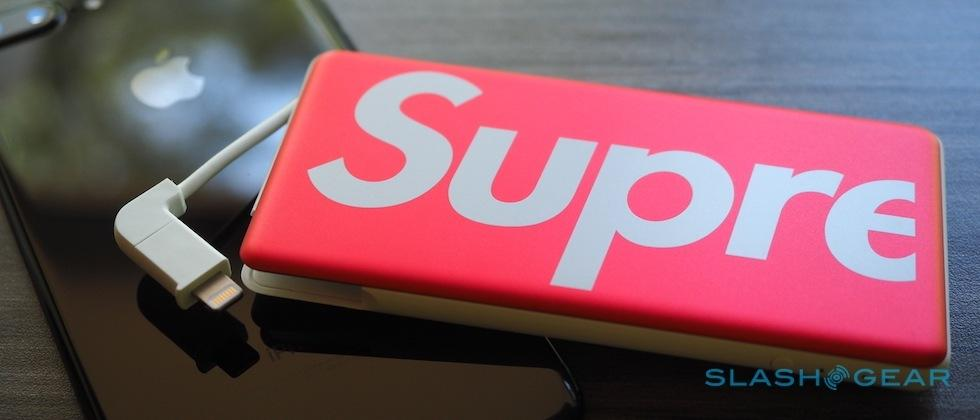 Supreme x Mophie Powerstation Plus Mini gives Hypebeasts a boost