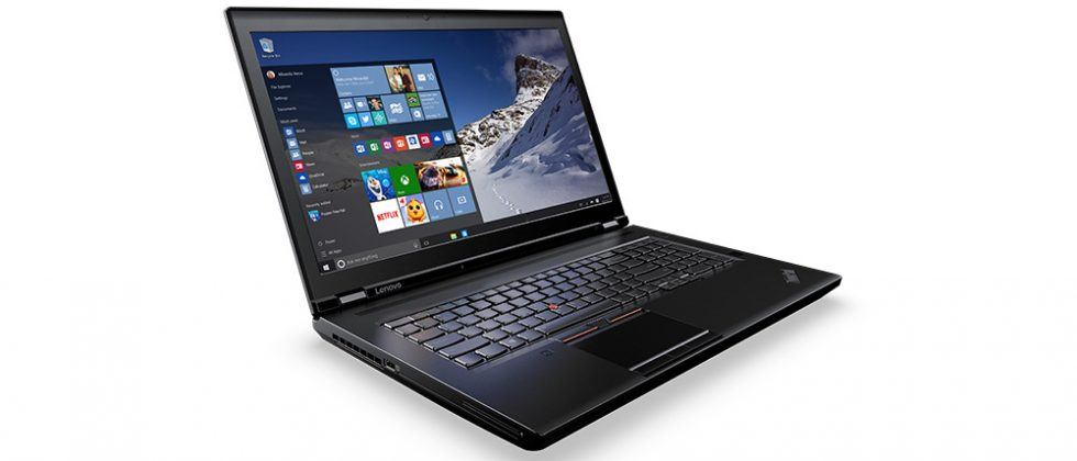 Lenovo ThinkPad P Series mobile workstations unveiled