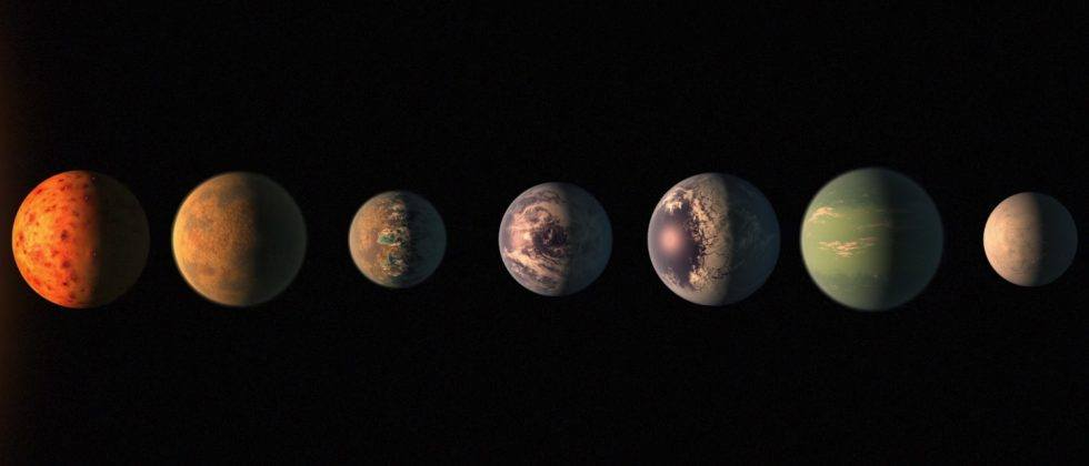 NASA finds seven new Earth-sized exoplanets near the same star
