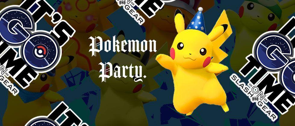 Pokemon GO celebrates Pokemon Day with partying Pikachu