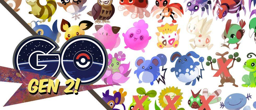 See our Gen 2 Pokemon GO 1st-wave list and release date timing