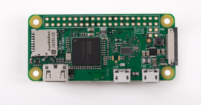 Raspberry Pi Zero W launches with wireless LAN and Bluetooth