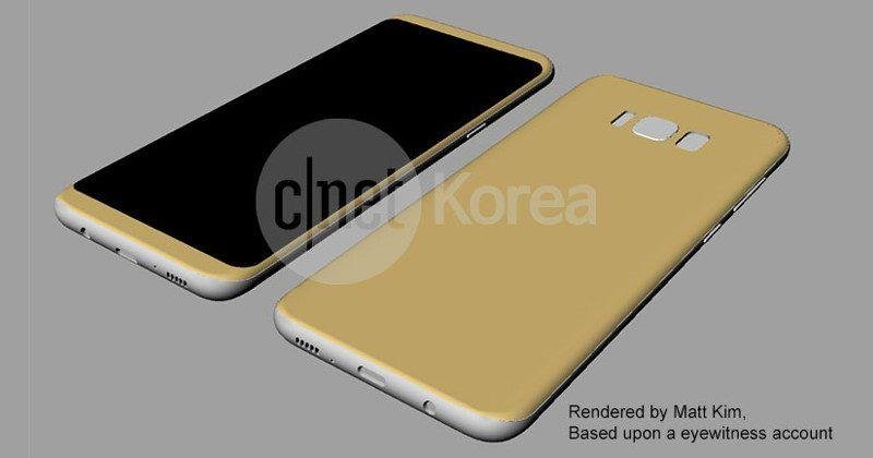 Galaxy S8 to be teased at MWC 2017, odd home button location
