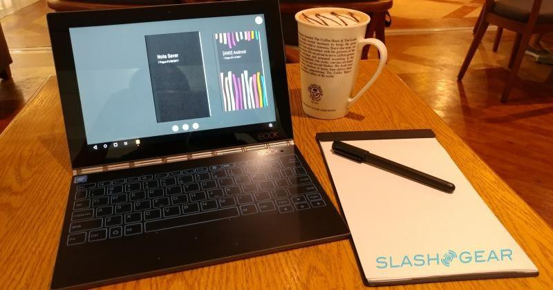 Lenovo Yoga Book a month later: Android at work