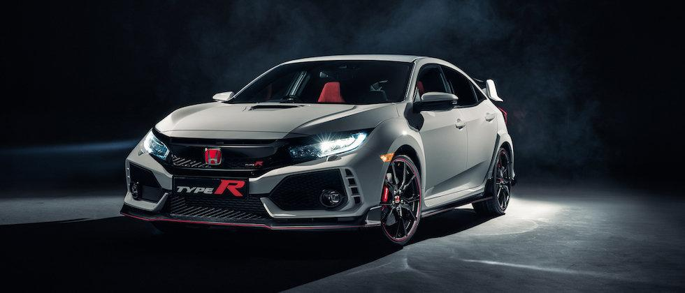 This is it: The 306hp 2017 Honda Civic Type R