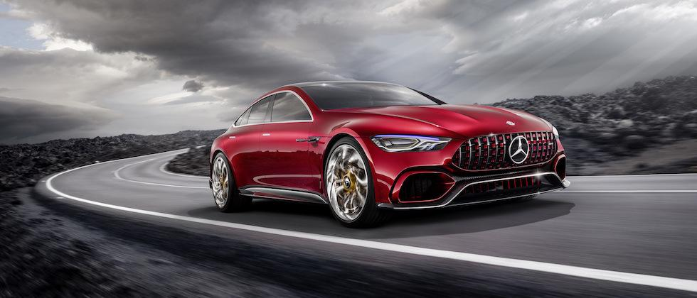 Mercedes-AMG GT Concept is a hybrid for hooligans