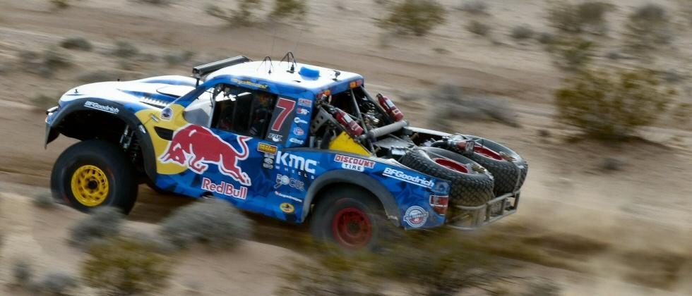 Desert storm: Catching air in Toyota's TRD at the 2017 Mint 400