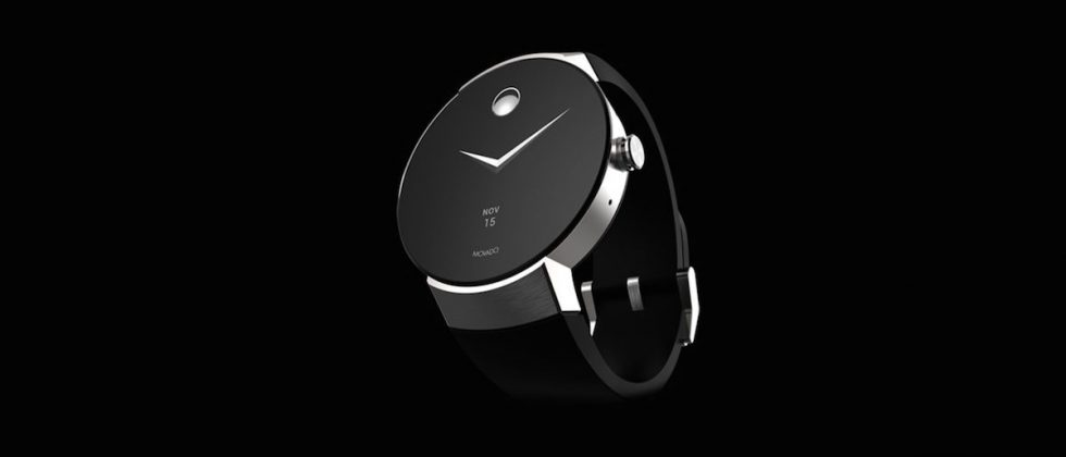 Movado debuts first Android Wear watch with sleek, minimalist design