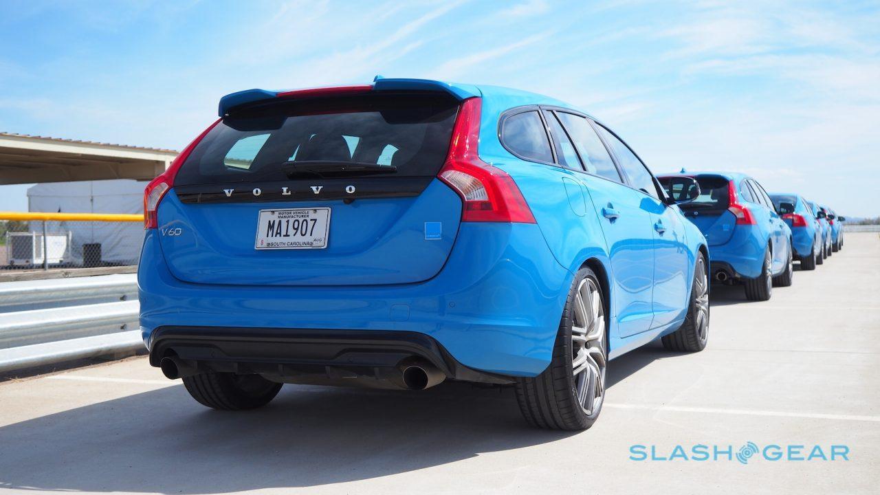 2017 Volvo V60 Polestar First Drive Feeling Blue Slashgear