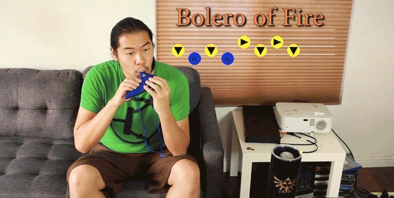 Ultimate Zelda fan uses ocarina to control automated home