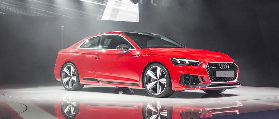 2018 Audi RS5 Coupe goes BMW baiting