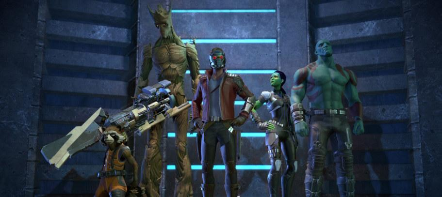 Telltale's 'Guardians of the Galaxy' series arrives this spring