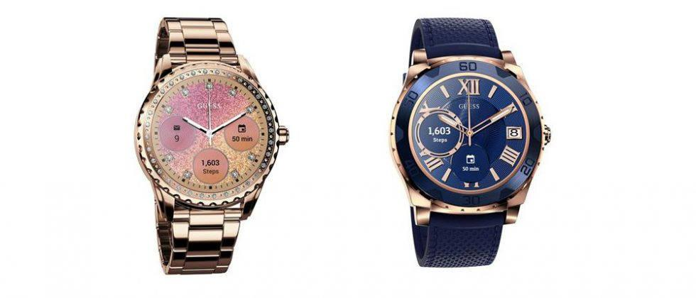 Guess brings Android Wear to two stylish smartwatches