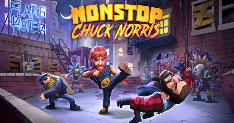 Chuck Norris finally gets his very own mobile game
