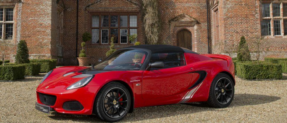 Lotus Elise Sprint goes back to lightweight basics
