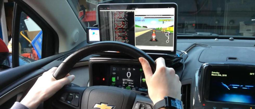 Man uses Raspberry Pi to turn car into Mario Kart 64 controller
