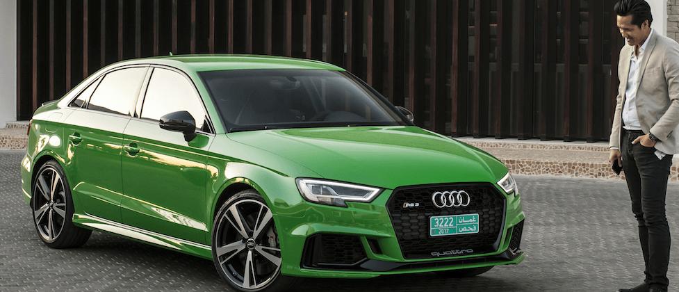 2018 Audi Sport RS 3 first drive: a 4-door, 174 mph speed-demon