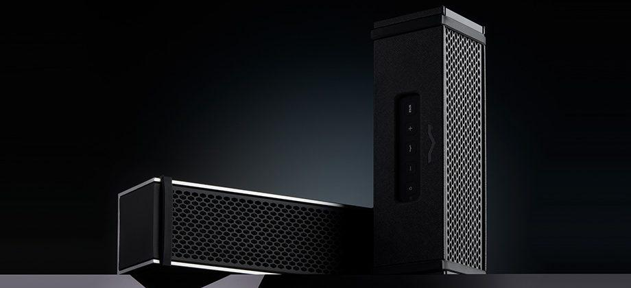 V-MODA Remix Bluetooth speaker has a built-in headphone amplifier