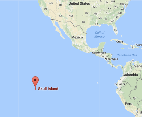 Kong\'s Skull Island is now live on Google Maps - SlashGear