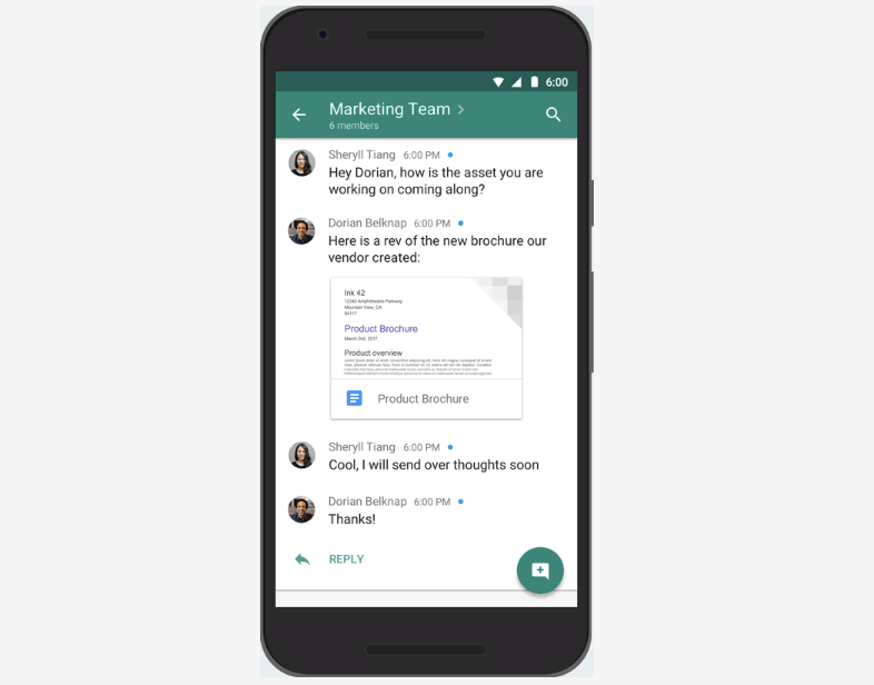 Google Hangouts overhaul splits service into 'Meet' and 'Chat