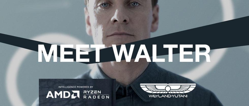 """ALIEN: Covenant invites you to """"Meet Walter"""" (with AMD onboard)"""