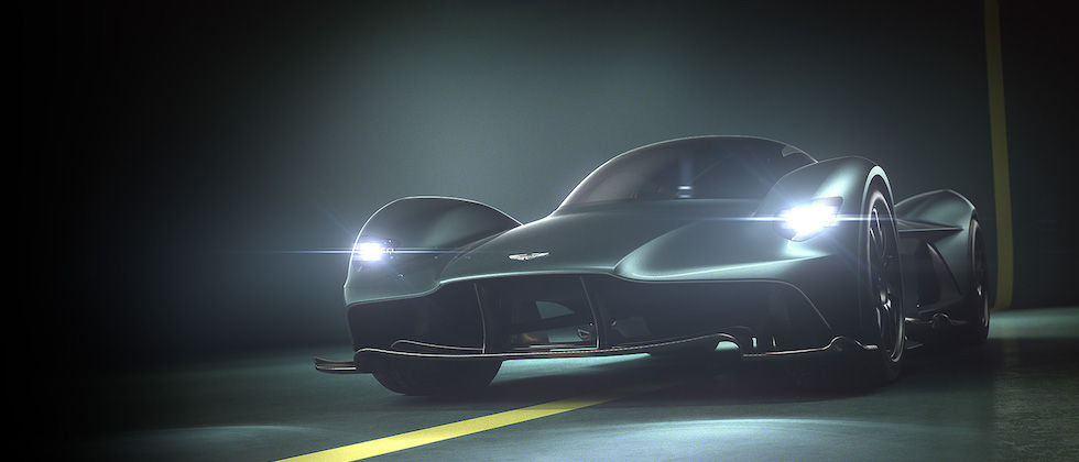 Aston Martin Valkyrie rides forth as AM-RB 001 gets named