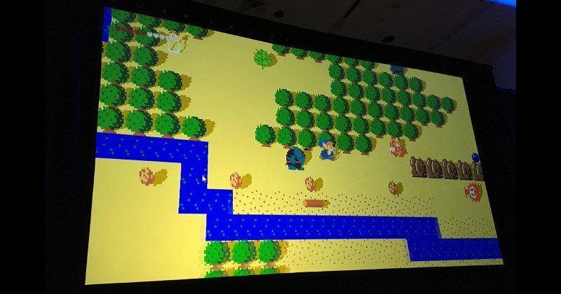 Zelda Breath of the Wild prototype was a deceptive 8-bit version