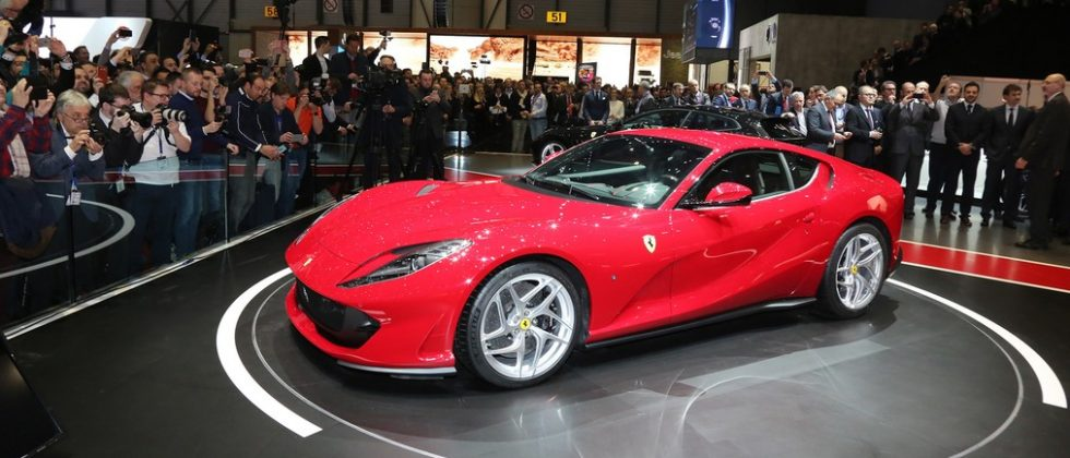 Ferrari 812 Superfast cranks V12 to 789 HP