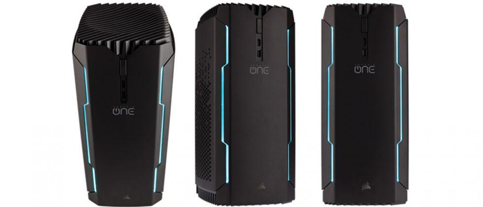 Corsair One gaming PC unveiled with four models: pre-orders are live