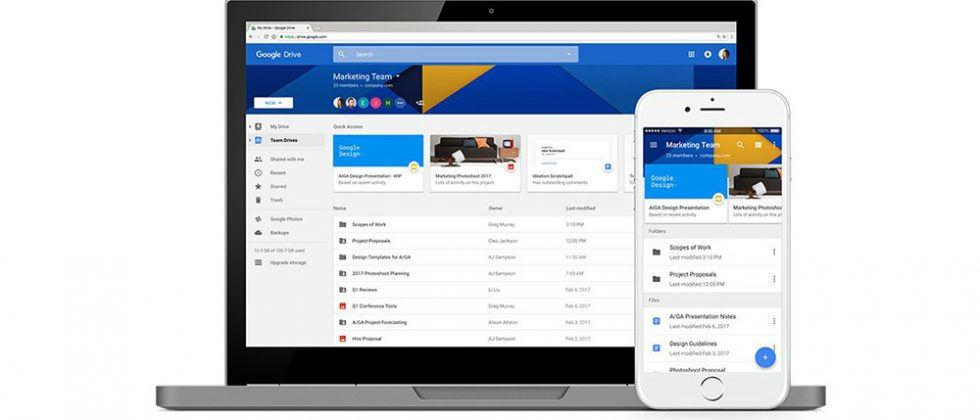 Google Drive updated with Vault, Team Drives, Quick Access and more