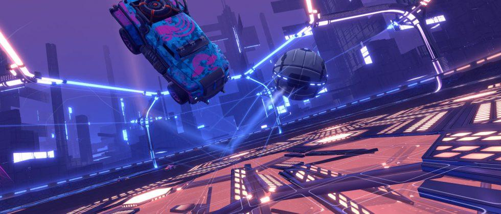 Rocket League's new mode, Dropshot, arrives next week
