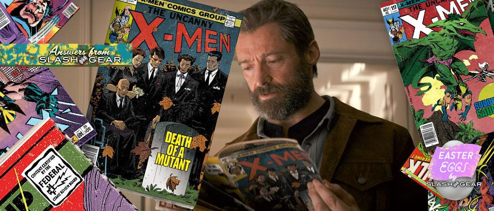 X-Men comics in the movie Logan: images and details from the creator