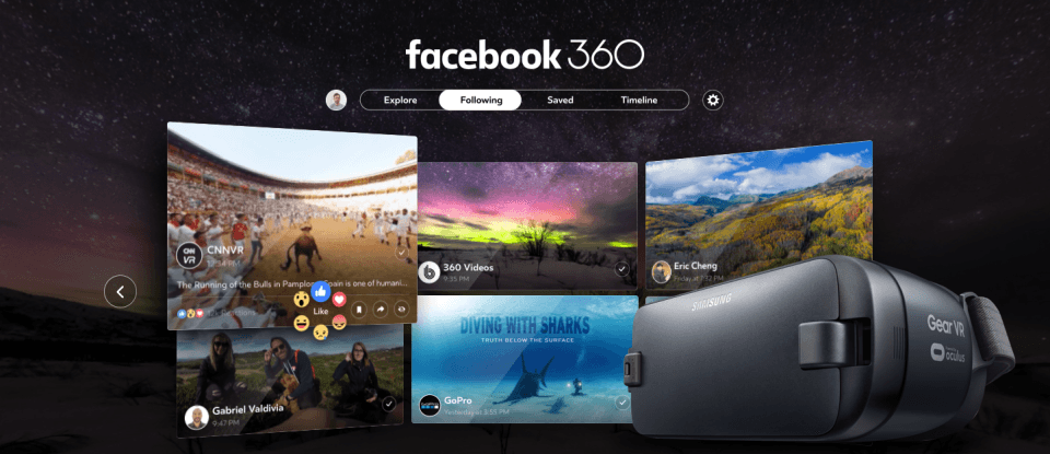 Facebook and Vimeo launch 360-degree video hubs: Here's how to watch
