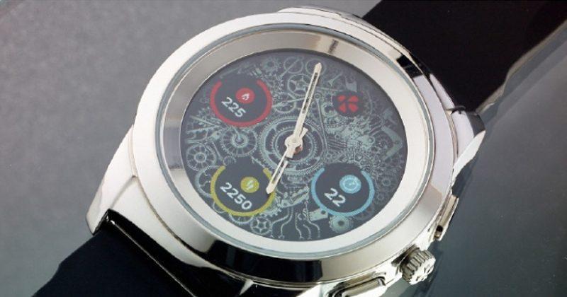 MyKronoz ZeTime puts mechanical watch hands on a touchscreen
