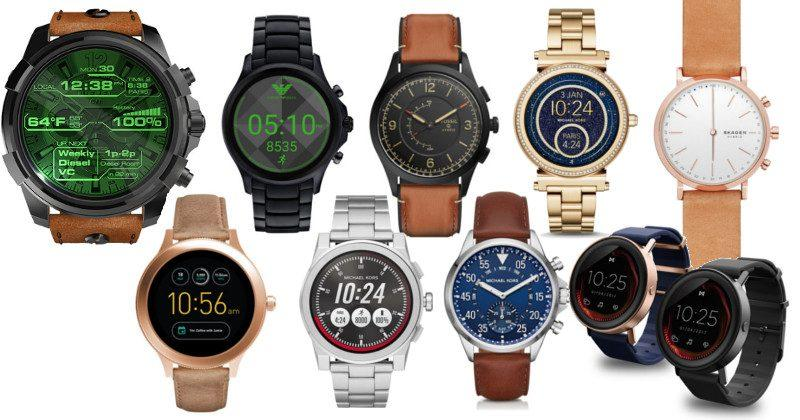 Fossil goes all out on hybrid, touchscreen smartwatches