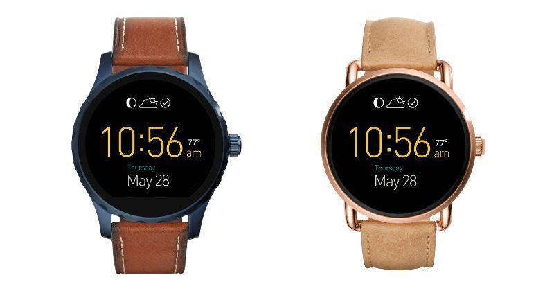 Fossil rolls out Android Wear 2.0 update