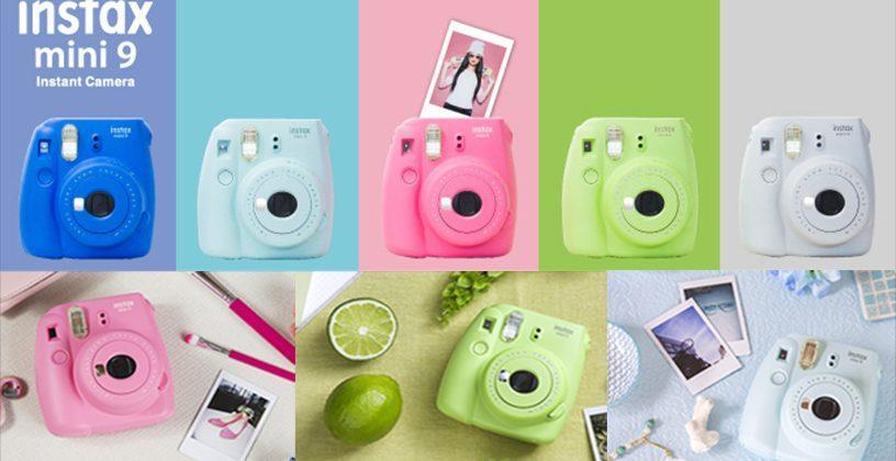 Fujifilm Instax Mini 9 arrives with a built-in selfie mirror