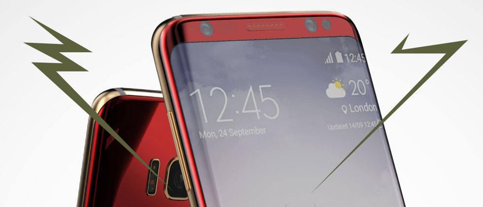 Galaxy S8 launcher found with icons - SlashGear