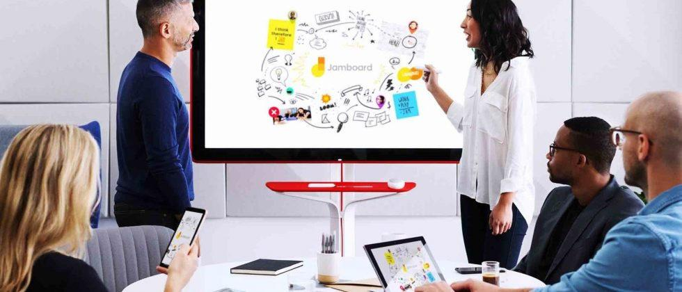 Google Jamboard priced up, but there's a subscription sting